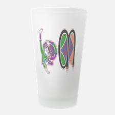 H M Frosted Drinking Glass