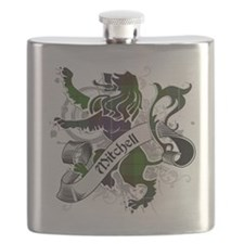 Mitchell Tartan Lion Flask