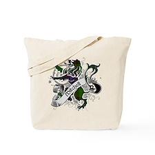 Mitchell Tartan Lion Tote Bag