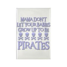 BABY PIRATES Rectangle Magnet