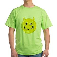 Devil Smiley Face T-Shirt