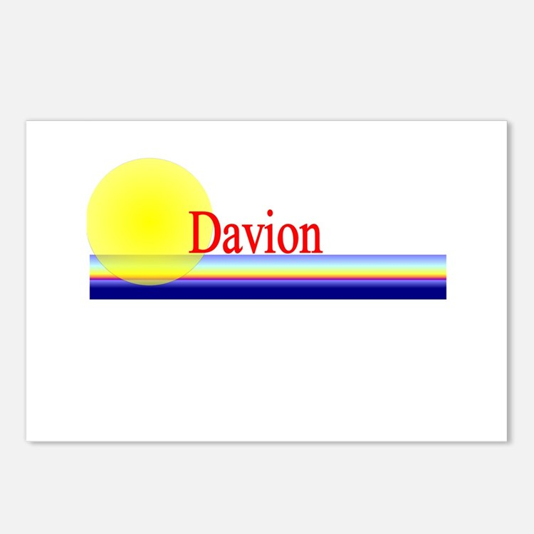 Davion Postcards (Package of 8)