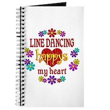 Line Dancing Happy Journal
