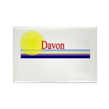 Davon Rectangle Magnet