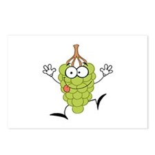 Grapes Postcards (Package of 8)