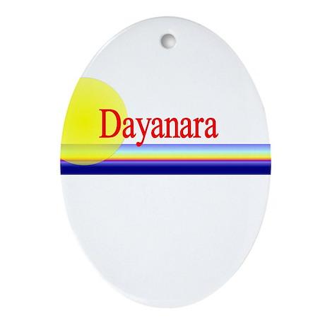 Dayanara Oval Ornament