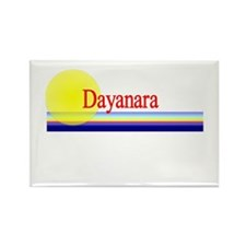 Dayanara Rectangle Magnet