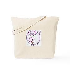 Pig Diva Tote Bag