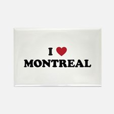 I Love Montreal Rectangle Magnet