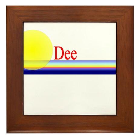 Dee Framed Tile