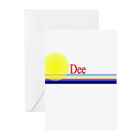 Dee Greeting Cards (Pk of 10)