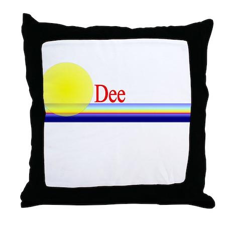 Dee Throw Pillow