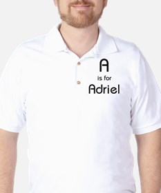 A Is For Adriel Golf Shirt
