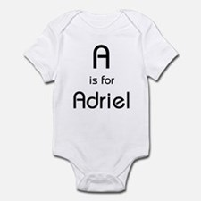 A Is For Adriel Infant Creeper