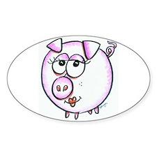 Pig Diva Decal