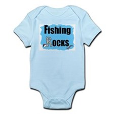 FISHING ROCKS  Infant Creeper