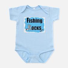 FISHING ROCKS  Infant Creeper