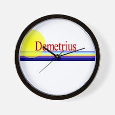 Demetrius Wall Clock