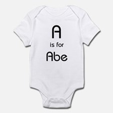 A Is For Abe Infant Creeper