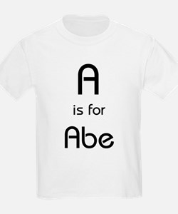 A Is For Abe Kids T-Shirt