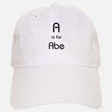 A Is For Abe Baseball Baseball Cap