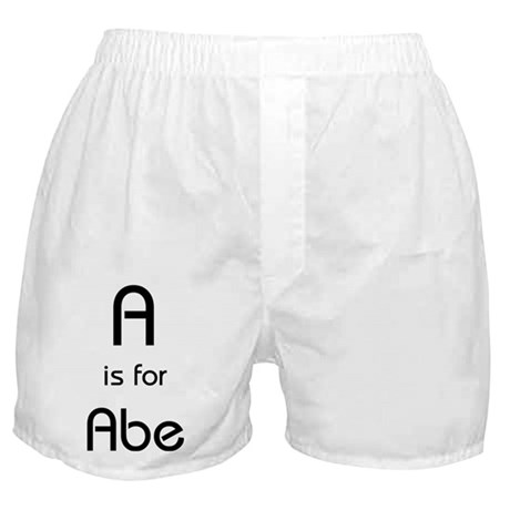 A Is For Abe Boxer Shorts