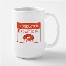 Conductor Powered By Doughnuts Mug