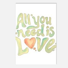 All you need Postcards (Package of 8)