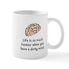 Funnier Dirty Mind Mug