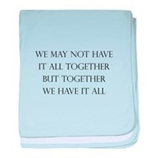 Have It All Together baby blanket