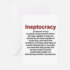 Ineptocracy Greeting Cards (Pk of 20)