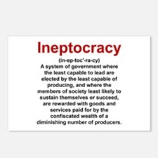 Ineptocracy Postcards (Package of 8)
