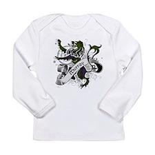 Murray Tartan Lion Long Sleeve Infant T-Shirt