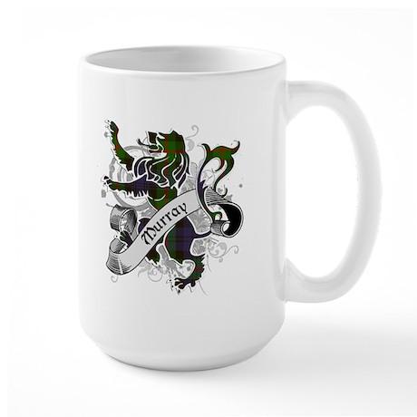 Murray Tartan Lion Large Mug