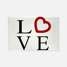 Love Logo Rectangle Magnet (10 pack)