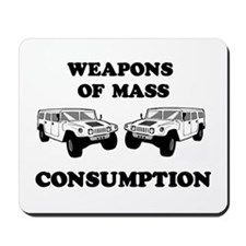 SUV Consumption Mousepad