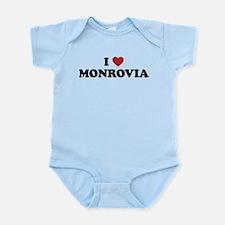 I Love Monrovia Infant Bodysuit