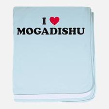 I Love Mogadishu baby blanket