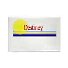 Destiney Rectangle Magnet