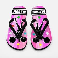 Love To Cheer Flip Flops
