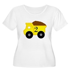 Second Birthday Dump Truck T-Shirt
