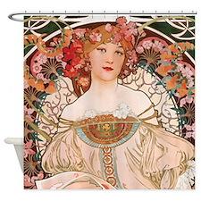 Alphonse Mucha Reverie Shower Curtain