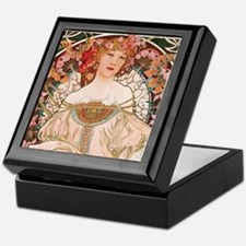 Alphonse Mucha Reverie Keepsake Box