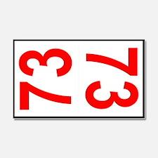 73 Autocross Number Plates Car Magnet 20 x 12