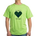Heart-MacLaggan Green T-Shirt