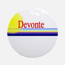 Devonte Ornament (Round)