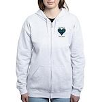 Heart-MacLaggan Women's Zip Hoodie