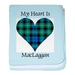 Heart-MacLaggan baby blanket