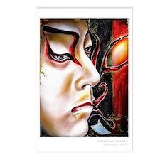 """Kabuki No.Three"" Postcards (Package of"
