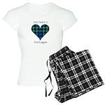Heart-MacLaggan Women's Light Pajamas